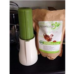 Green smoothie heaven! Loving the Tribest Personal Blender!