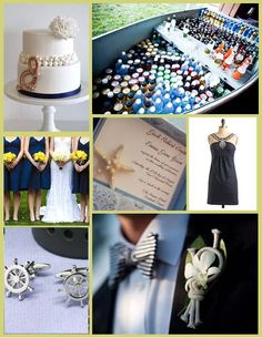 Nautical Wedding Ideas - WV WEDDINGS