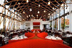 Sushisamba: London. A blend of Japanese, Brazilian and Peruvian cuisine.