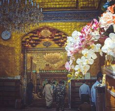 Shrine of Hazrat Abbas (as)