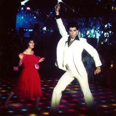 Saturday Night Fever...loved this movie!!  I remember the night Michelle Beauchamp and I drove to HarMar to see it!