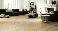 Naturae Aequa Silva 12 in. x 48 in. Wood Look Porcelain Tile Wood Effect Tiles, Wood Tile Floors, Wood Look Tile, Stone Flooring, Flooring Ideas, Porcelain Wood Tile, Thing 1, Room Tiles, Brick Patterns