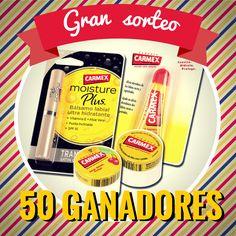 Carmex Spain: ¡¡¡Gran sorteo Carmex!!! día 2 de marzo, teniendo de plazo dos días naturales para reclamar su premio.