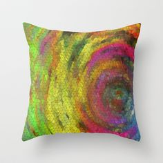 Three Sides to This Story Throw Pillow by Rokin Art by RokinRonda - $20.00