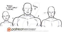 Shoulders reference sheet by Kibbitzer on DeviantArt