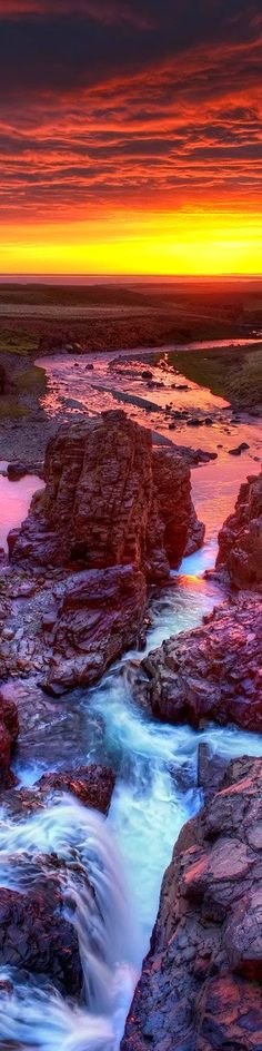 Amazing Iceland ~ a Nordic Island Nation is defined by its dramatic volcanic landscape of geysers, hot springs, waterfalls, glaciers and black sand beaches.