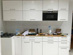 Marsta IKEA kitchen in progress