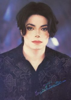 Michael Jackson Picture You.  Are. Not.  Alone