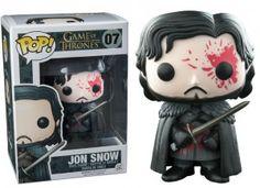 Figurka Jon Snow Bloody Gra o Tron POP!