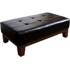 Free Shipping. Buy Kinfine Rectangle Cocktail Ottoman, Multiple Colors at Walmart.com