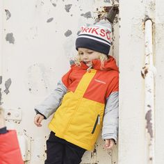 Didriksons Lun Kids Jacket | Multi – Sportbaby