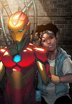 Invincible Iron Man #1 Variant  You mean iron woman