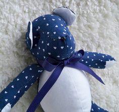 Romeo the Little Teddy Bear by ellemardesigns on Etsy, $10.00