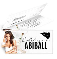 Entdecken Sie die große Auswahl an Einladungskarten rund um das Thema Abiball! #einladungenversandkostenfreibestellen #individuelleeinladungenabiball