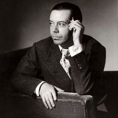 """Cole Albert Porter (1891–1964) American composer & songwriter, one of the major songwriters for the Broadway musical stage. Porter maintained a luxury apartment in Paris. His parties were extravagant & scandalous, with """"much gay & bisexual activity, Italian nobility, cross-dressing, & a large surplus of recreational drugs"""". In 1918, he met a rich, Kentucky-born divorcée eight years his senior. She was in no doubt about Porter's homosexuality, but it was mutually advantageous for them to…"""