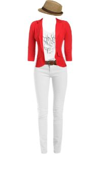 WetSeal.com Runway Outfit:  Seeing Red by amberrmillerr. Outfit Price $101.50