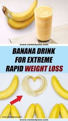 Banana Drink for Extreme Rapid Weight Loss #Health #healthy #health_and_wellbeing #healthy_habits #fastdiet