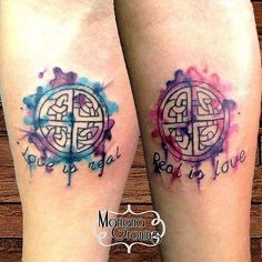 85c0c8296 about Couples tattoo on Pinterest | Couple tattoos Twin tattoos ... Love  Symbol Tattoos