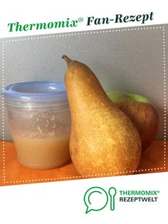 Babybrei Birnen-Apfelmus Baby porridge pear applesauce from Göttermaus. A Thermomix ® recipe from the baby food / porridge category at www.de, the Thermomix ® community. Low Fat Cookies, Home Meals, Different Vegetables, Homemade Baby Foods, Fiber Foods, Dried Beans, Food Items, Baby Food Recipes, Food Processor Recipes