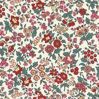 Lecien ~ Memoire A Paris ~ Small Floral Red