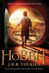 The hobbit, or, There and back again by J.R.R. Tolkien.  J.R.R. Tolkien's classic prelude to The Lord of the Rings. Bilbo Baggins is a hobbit who enjoys a comfortable, unambitious life, rarely traveling any farther than his pantry or cellar. But his contentment is disturbed when the wizard Gandalf and a company of dwarves arrive on his doorstep one day to whisk him away on an adventure.