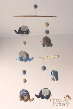 Móbile de Elefantinhos                                                       …