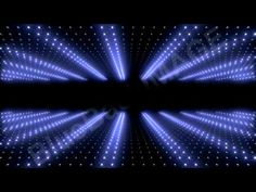 Stock Footage : Light wall neon LED disco 2W Ds Y3