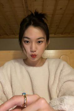 Korean Aesthetic, Aesthetic Photo, Aesthetic Pictures, Kpop Girl Groups, Kpop Girls, Korean Girl, Asian Girl, Filipino Girl, Kim Doyeon