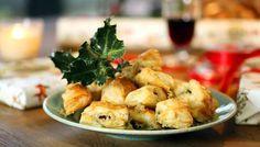 Nigel Slater's Stilton puffs from Nigel Slater's 12 Tastes of Christmas