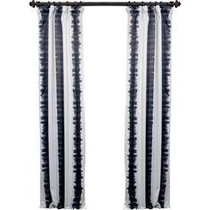 Martin Ikat Blackout Pinch Pleat Single Curtain Panel & Reviews   Joss & Main