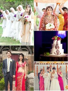 34 South Asian & Western Fusion Wedding Ideas from The Big Fat Indian Wedding