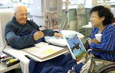 Common bond leads to dialysis patients' creative connection in Mentor [VIDEO] | It is what art therapy is all about — creativity toward the goal of healthy self-expression and communication with others.
