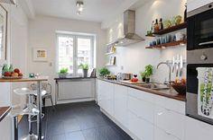 кухня без верхних шкафов фото - Поиск в Google