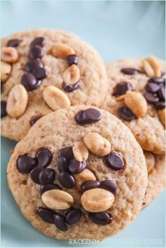 Superleckere weiche Peanut Butter Cookies: Erdnussbutter-Kekse   http://www.backenmachtgluecklich.de