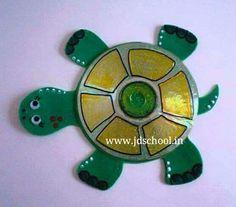 Kids fun creative idea from cd ~ Crazzy Craft