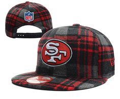 969eaed18a NFL SAN FRANCISCO 49ERS New Era x SUPER WINTER PLAID SNAPBACKS HATS