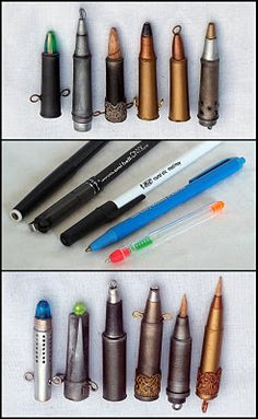 How to make Steampunk bullets from stuff at home - All Things Crafty