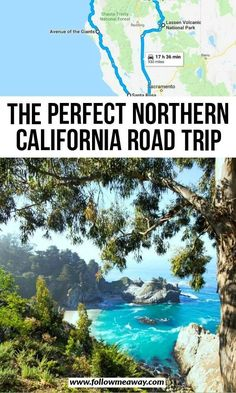 The Perfect Northern California Road Trip Itinerary - Flight, Travel Destinations and Travel Ideas West Coast Road Trip, Us Road Trip, Road Trip Hacks, Northern California Travel, California Travel Guide, California California, California Road Trips, California Vacation, Italy Vacation