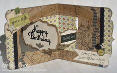 The Dining Room Drawers: Male Birthday Card