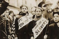Protest Against Child Labor in a Labor Parade 1909 No. 2