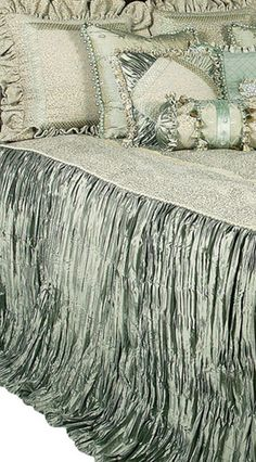 Luxury High End Bedding and Accent Pillows by Reilly-Chance Collection