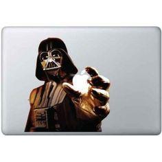 - Sticker Dark Vador  - Convient pour toutes les tailles de MacBook  - Impression haute résolution sur support vinyle adhésif de qualité  - Découpe de précision du sticker