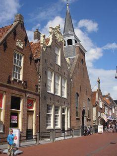 Balk, Friesland  Schrijver J.M.A. Biesheuvel gezien '78