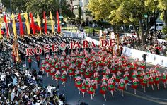New Year's Tournament of Roses parade in Pasadena, CA