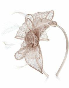 Accessorize Womens Rosie Lurex Petal On Band Size One Size Cream Diy Hair Accessories, Wedding Accessories, Fashion Accessories, English Hats, Bridal Headpieces, Fascinators, Tea Party Hats, Fascinator Headband, Millinery Hats
