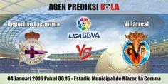 Prediksi Bola Deportivo La Coruna vs Villarreal 04 Januari 2016