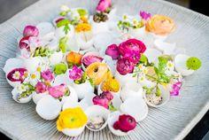 Traumhafte Blumendeko Ideen, die deine Seele verzaubern - Eierschelen Vasen
