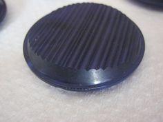 5 Stück Mantelknöpfe mit Öse,Blau,Muster Rillen,Durchmesser ca.37 mm,Neu,Lübecker Knopfmanufaktur von Knopfshop auf Etsy