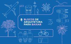 Biblioteca de desenhos arquitetônicos em DWG disponíveis para download