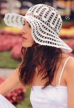 TRICO y CROCHET-madona-mía Patrones De Sombreros De Ganchillo 60cb58a7c5d